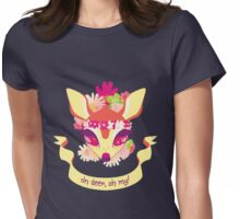 Oh deer, oh my! Womens Fitted T-Shirt