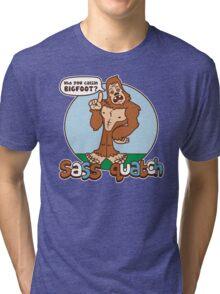 Sass Quatch Tri-blend T-Shirt