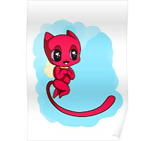 Cupid Kitty Poster