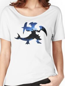 Mega Garchomp used Night Slash Women's Relaxed Fit T-Shirt