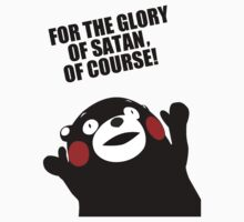 Satanic Kumamon  by RorcraftMC