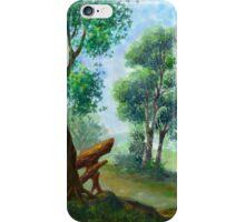 trees on my backyard iPhone Case/Skin