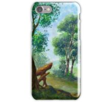 trees on my backyard iPhone Case/Skin