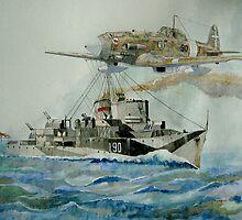 HMS Lebury by Ray-d