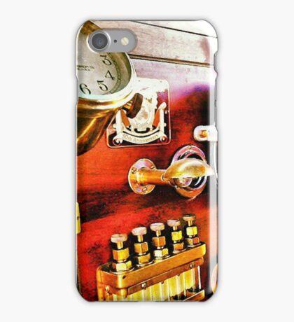 Vintage Time Travel Touring Car iPhone Case/Skin