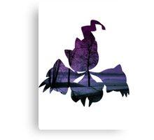 Mega Banette used Night Shade Canvas Print