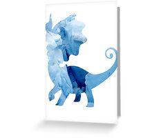 Aurorus used Icy Wind Greeting Card