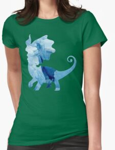 Aurorus used Icy Wind Womens Fitted T-Shirt