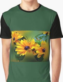 Flutterby Fun Graphic T-Shirt