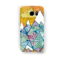 Maps and Mountains Samsung Galaxy Case/Skin