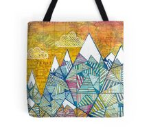 Maps and Mountains Tote Bag