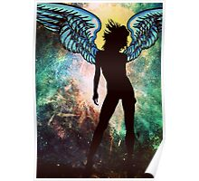 The Universe is my Angel Poster