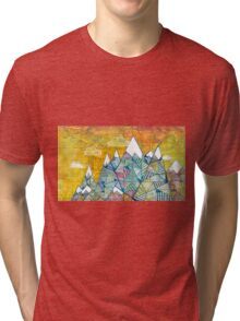 Maps and Mountains Tri-blend T-Shirt