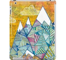 Maps and Mountains iPad Case/Skin
