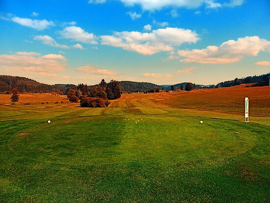 Summer season at the golf club | landscape photography by Patrick Jobst