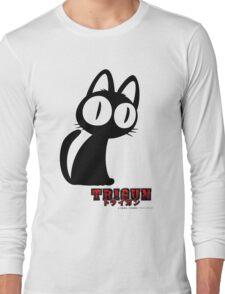 Trigun Cat Long Sleeve T-Shirt