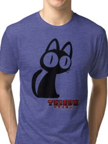 Trigun Cat Tri-blend T-Shirt
