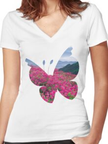 Vivillion used Sweet Scent Women's Fitted V-Neck T-Shirt