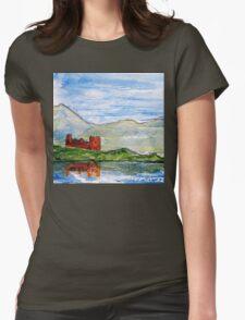 scottish castle by sea  T-Shirt