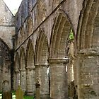 Dunkeld Cathedral Arches by kalaryder