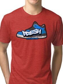 Powder Blue Fresh 3 Tri-blend T-Shirt