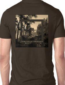 ruby beach, wa, usa old school (2x square) Unisex T-Shirt