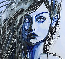 Emotion in Blue by Sara Riches