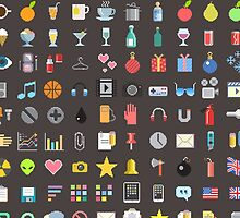 pixels icons by CAMPINCOOL