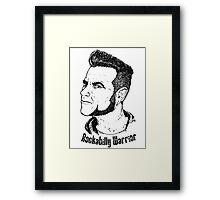 Rockabilly Warrior Framed Print