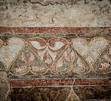 Roman fresco hearts by Susana Weber