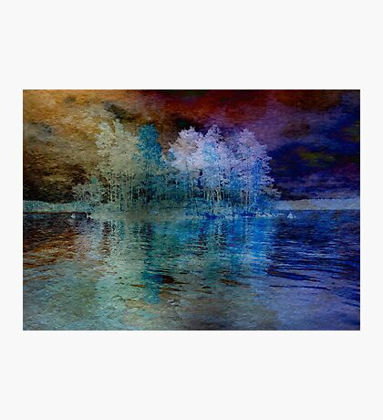 Island in the Storm Photographic Print