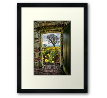 Outside The Gate Framed Print
