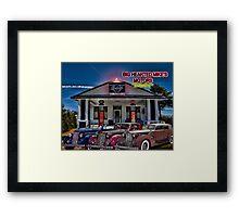 Big Hearted Mike's Motors Framed Print