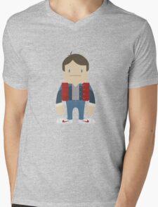 MartyDeki Mens V-Neck T-Shirt