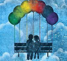Under The Rainbow by Corinna Djaferis