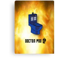 Doctor Poo Canvas Print