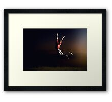 night jumper Framed Print
