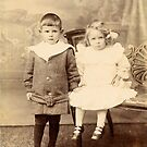 Yesteryear 3 - Mother & Brother 1907 by Francis Drake