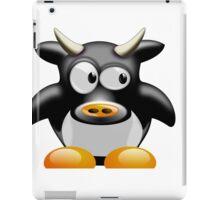 Cow work 1 iPad Case/Skin