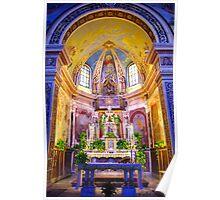Church Interior - Caselvecchio Poster