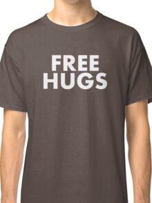 FREE HUGS (WHITE TEXT) Classic T-Shirt