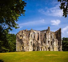 Old Wardour Castle by mlphoto