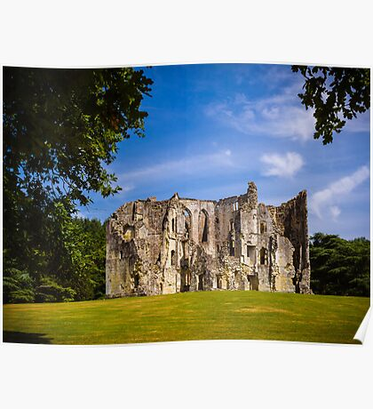 Old Wardour Castle Poster