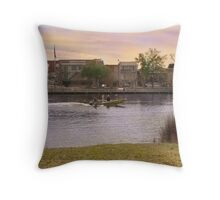 River Ride Throw Pillow
