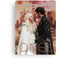 """""""I Will Always Find You"""" Camelot Design Canvas Print"""