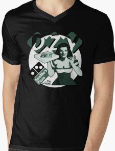 Pizza Girl 2 Mens V-Neck T-Shirt