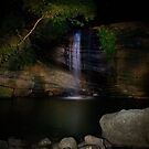 Serenity Falls by Moonlight by Steve Bass