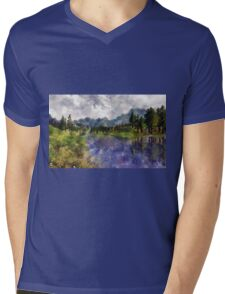 Reflections of Nature Mens V-Neck T-Shirt