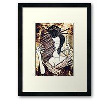 The Geisha - Timeless Enchanting Japanese Art Framed Print