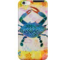 Blue Crab No. 2 iPhone Case/Skin